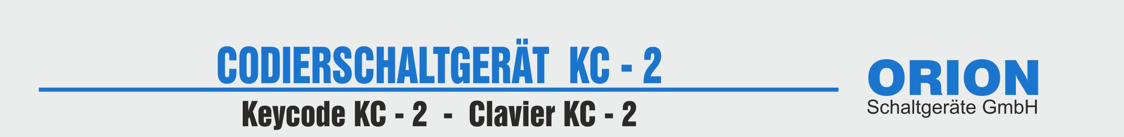 Codetaster KC2